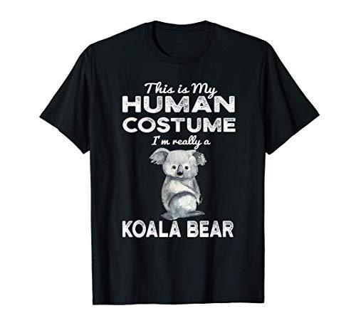 Este es mi disfraz humano Kawaii Koala Bear Cosplay Camiseta