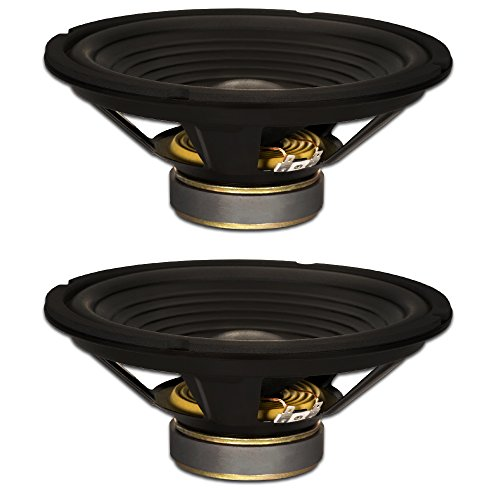 Goldwood Sound, Inc. Stage Subwoofer, OEM 10' Woofers 220 Watts each 8ohm Replacement 2 Speaker Set (GW-210/8-2)