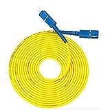 宅内 光配線 コード 光 ファイバー ケーブル sc-sc 両端 SC コネクタ付 (黄3m)