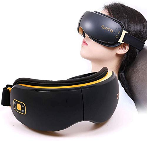 OSITO Rechargeable Eye Massager with Heat for Dry Eye with Vibration to Refresh Mind and Music Air...