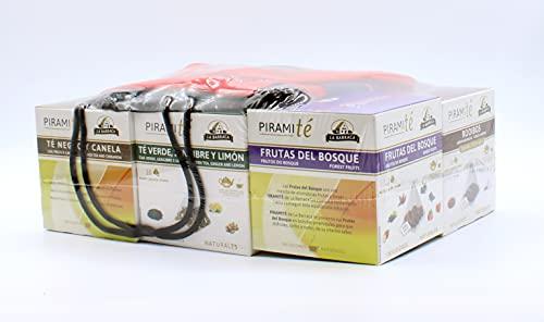Pack 6 PiramiTes infusiones Premium + mochila de regalo