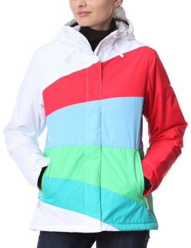 Quiksilver Roxy Kayla Zipped - Chaqueta de esquí para Mujer, tamaño M, Color Blanco