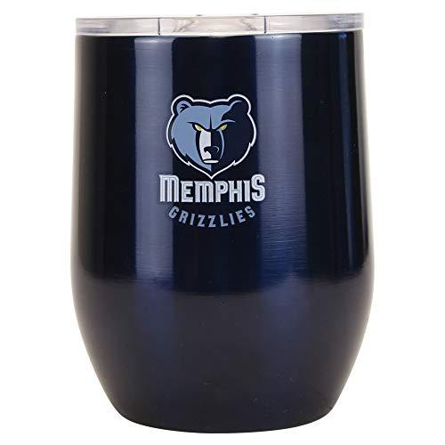 Boelter Brands NBA Memphis Grizzlies Trinkbecher, Stahl, 16 gebogen, Teamfarben, Einheitsgröße
