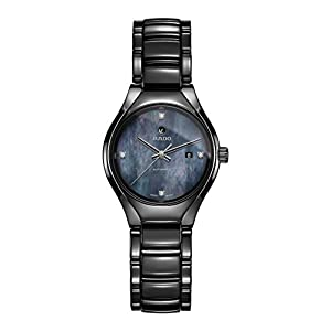Rado Women's True Diamond 30mm Ceramic Band & Case Automatic Watch R27242872