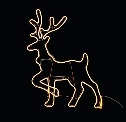 Giocoplast Natale Neon Flex cm 94 Renna Multicolore