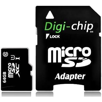 Digi Chip - Tarjeta de Memoria Micro-SD para Samsung Galaxy A10, A20, A30, A40, A50, A60, A70, A90, A10s, A20s, A30s, A50s, A70s, M10s, M30s (64 GB): Amazon.es: Electrónica