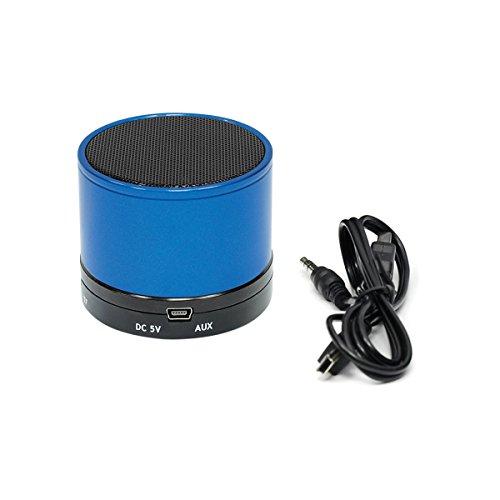 Gear Head Bluetooth Wireless Speaker with Microphone, Blue (BT3500BLU)