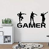 HNXDP Nouveau Gamer Vinyle Autocollant Mural Pour Les Chambres D'enfants Affiche...