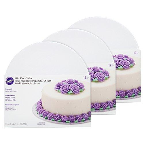 Bases circulares para tortas de Wilton, Multicolor