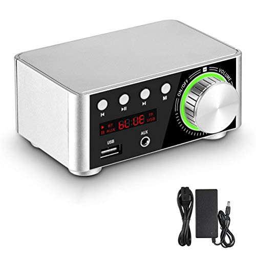 Liberación Mini TPA3116 Amplificador De Potencia Receptor Bluetooth 5.0 Estéreo Home Car Audio Amp USB U-Disk Reproductor De Música (Color...