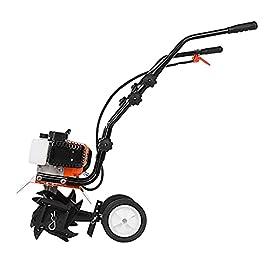 Motobineuse électrique Bineuse électrique Cultivateur de rotation de l'essence 52CC, jardin de jardin à 2 temps…