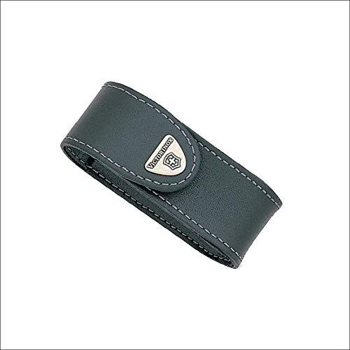 Victorinox Etui en Cuir Noir a Clip Pivotant - pour Couteau Suisse de Longueur 91 mm