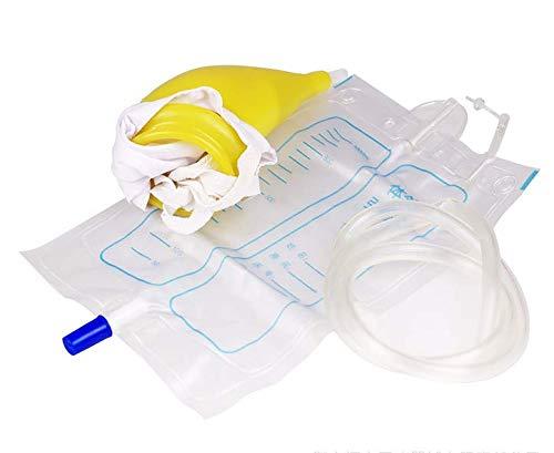 Sacchetto riutilizzabile urina Uomo Donna Borsa Orinatoio Pee Holder Semimpermeabile portatile urine collettore per l'incontinenza urinaria ( dimensione : Female )