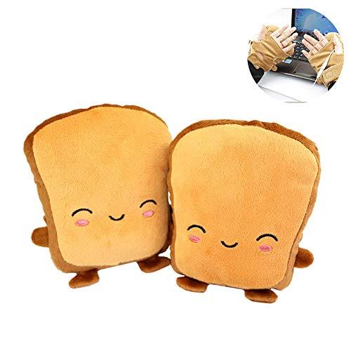 Lispeed 1 Paar USB Handwärmer Hand Muffs Frauen Beheizte Handschuhe Toast Handwärmer Winter Fingerlose Handschuhe
