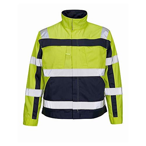 Mascot 07109-470-171-2XL Jacket Arbeitsjacke Cameta, gelb/marine blau, 2XL