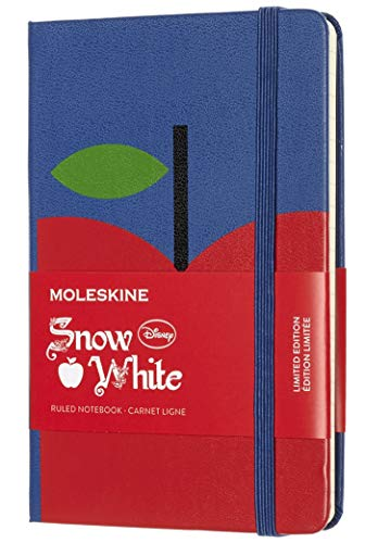 """Moleskine Limited Edition Snow White Notebook, Hard Cover, Pocket (3.5"""" x 5.5"""") Ruled/Lined, 192 Pages"""