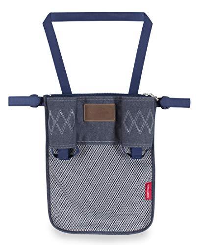 Organizador universal de Maclaren: Tenga lo esencial siempre a mano.Se adapta a Maclarens y mayoría de las marcas. Accesorio ideal para sillas de paseo