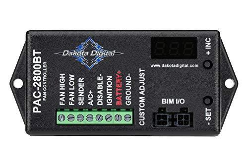 Dakota Digital PAC-2800BT Electronic Fan Controller 70 Amp with Bluetooth Control
