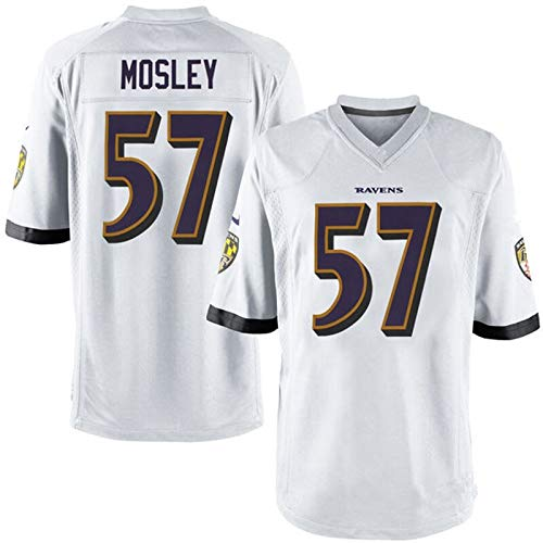 Li Largo Cuervo Ravens # 8 Jackson # 9 15 57, legendaria Camiseta de la NFL (Color : 8, Size : L)