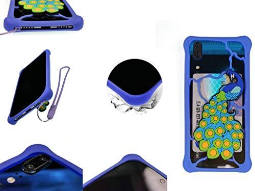 Huayijie Silicona Funda para Mediacom Phonepad Duo X550u X500 S550 S500 G500 S650 MEDIACOM PHONEPAD Duo X532U X532L X555U X530U S532U S532L S552U B500 B400 R450 G450 G415 G552 G515 G551 LKQ