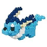 Construisez votre propre Pokémon Vaporeon Contient plus de 100 petits blocs de construction Créez une œuvre d'art Pokémon en 3D avec les tailles et couleurs assorties des pièces Collectionnez et affichez vos œuvres d'art