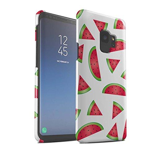 Stuff4 Var voor Stukjes Voedsel SG-3DSWG Telefoon Huid Samsung Galaxy S9/G960 Watermeloen