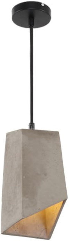 Kronleuchter Kronleuchter - Creative Persnlichkeit Single Head Zement Kronleuchter (15cm  15cm) Standard warmes Licht  Kronleuchter (Farbe   B-Warmes licht)