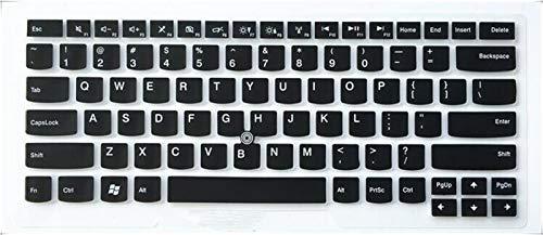 Durable keyboard stickers Laptop Keyboard Cover Protector For Lenovo ThinkPad T480 E485 T475 E475 E470 T480 T470s T470 E431 T440p T430 T470 e480 e445 e450 Keyboard accessories (Color : Black)