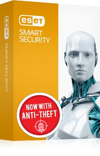 ESET Smart Security® 6 (1 PC / 1 Year) Complete Internet Security Featuring Anti-Theft and Social Media Scanner with 2014 Upgrade Included