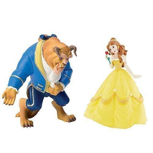 Disney - Bella e la Bestia - Figura Set con 2 figure: La Bella , e La Bestia
