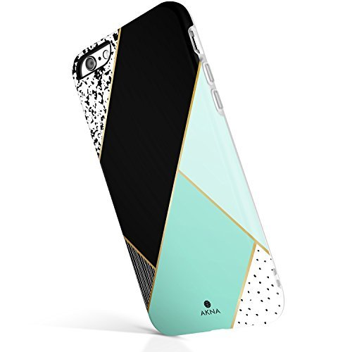 AknaCase iPhone 6 Plus / 6s Plus case Geometric,Akna Glamour Series Flexible Hard TPU Cover for Both iPhone 6 Plus & iPhone 6s Plus (#58-U.S)