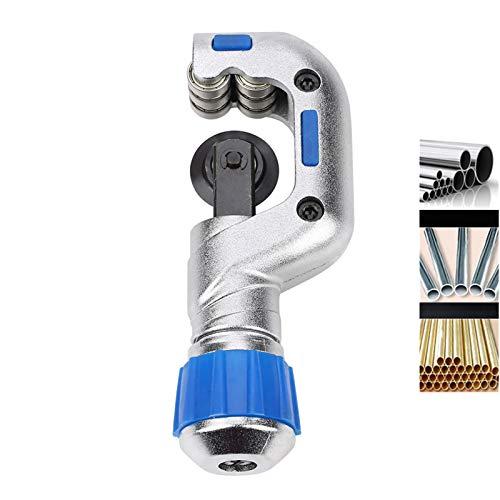 Cortador de tubos, rodamiento de bolas Tubo cortador de tubos Aleación de aluminio Ideal para el corte de tubos de cobre, tubos de aluminio, tubos de acero inoxidable, etc.(5-50MM)