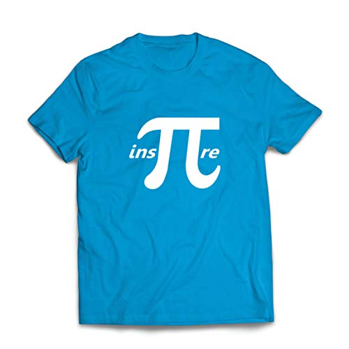 lepni.me Camisetas Hombre Inspire Pi Nmero Da Matemticas Regalo matemtico Geek (Small Azul Multicolor)