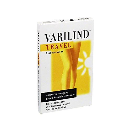 Varilind Travel Reise-St�tzstrumpf schwarz M, 2 St