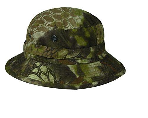 Kryptek Boonie Hat with Adjustable Chin Strap, Kryptek Highlander Camo , Large-X-Large