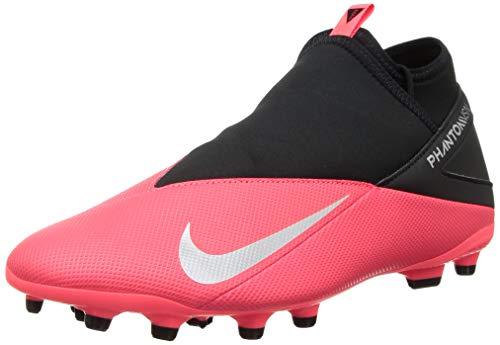 Nike Men's Hi-Top Trainers Sneaker, Laser Crimson Metallic Silver Black, 7.5 us