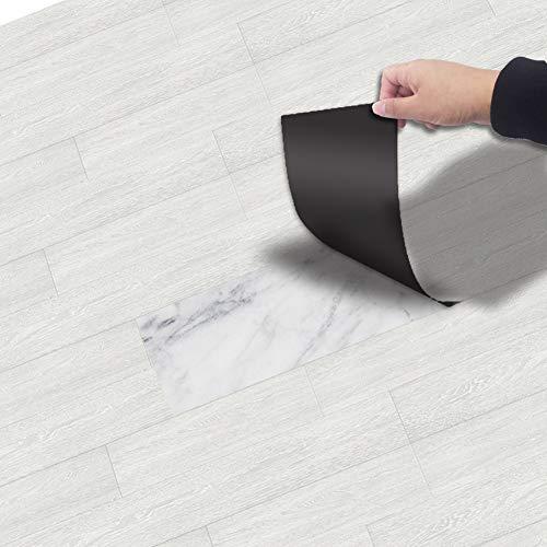 Demana Boden Aufkleber Selbstklebend 20x300 cm PVC, Fliesenaufkleber Bodenfliesen DIY Aufkleber wasserdichte Anti-Rutsch Fliesensticker für Wohnzimmer Küchenboden Bad Balkon (NO5)