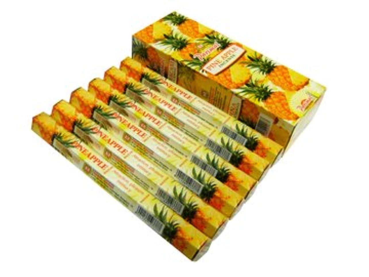 食用兄六月PARIMAL(パリマル) パイナップル香 スティック PINEAPPLE 6箱セット