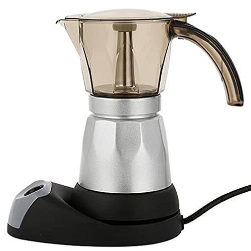 BHBCA Máquina De Espresso, Potcolator Pot for Espresso, Moka, Café Cubano, Cappuccino, Latte Acamp