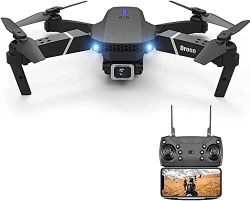 WASHULI Drone con modalità 4K HD Macchina Fotografica, Alta Quota Rc. Drone Quadcopter WiFi. FPV, Due batterie, trasportare la modalità Senza Testa, Senza Testa