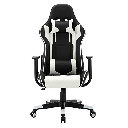 Office Chairs Desk Chair Swivel Heavy Duty Ergonomic Design Gaming Executive Office Chair High Back Heavy Duty Home Office Computer Desk Chair Faux Leather Rocking Racing Chair