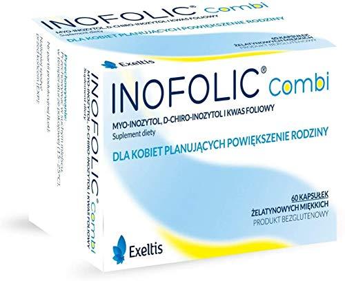 Inofolic Combi 60 Caps Pregnancy Ovulation PCOS Treatment