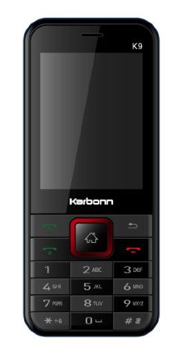 Karbonn K9 (Black-Red)