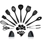 Kitchen Utensils Set, Cooking Utensils Set, 22 Silicone...