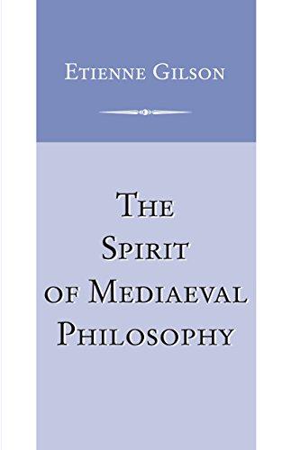 The Spirit of Mediaeval Philosophy: 1931-1932