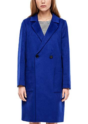 s.Oliver RED Label Damen Mantel aus Wollmix Blue 46