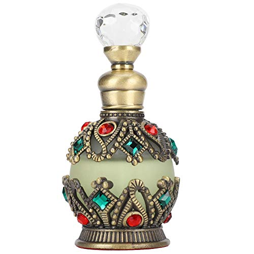 Fydun Muslimisches Parfüm, Halal Dubai ätherisches Öl Vintage Exquisite Religious Supply 15ml, (blau)