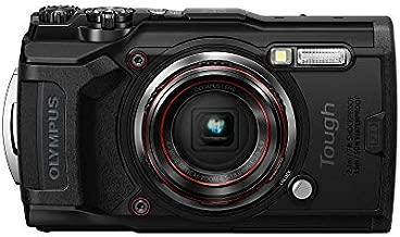 Olympus Tough TG-6 Waterproof Digital Camera, Black (Renewed)