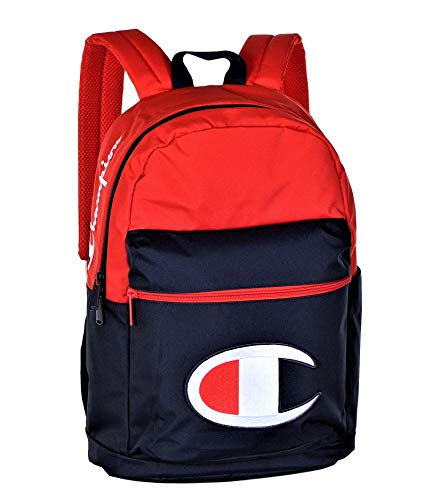 Champion Youth Supersize Backpack Mochila juvenil, rojo/azul marino, Taille unique Unisex niños