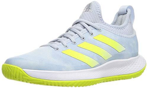 adidas Defiant Generation W, Scarpe da Tennis Donna, Blu, Giallo, Bianco (Azuhal Amasol Ftwbla), 44 2/3 EU